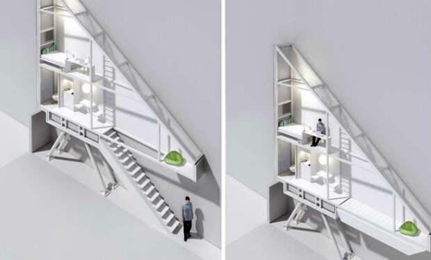 Архитектор потратил последние деньги на метр между двумя домами и вызвал смех. Через год метровый проход стал трехэтажным домом для одного