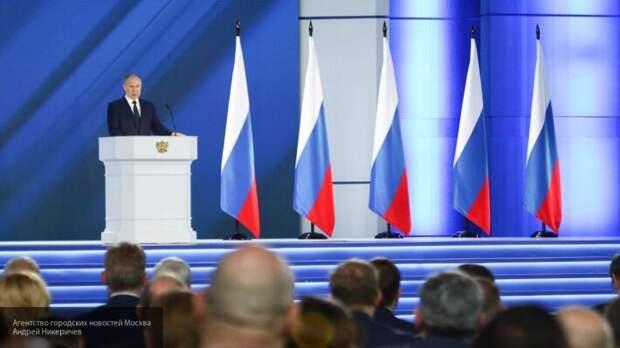 На Украине объяснили, как послание Путина Федеральному собранию обрадовало Киев