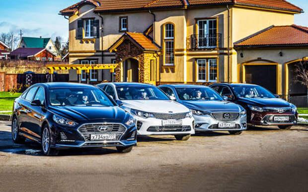 Hyundai Sonata против конкурентов – большой тест ЗР