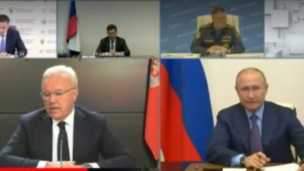 Путин недоволен организацией информирования оЧПвНорильске