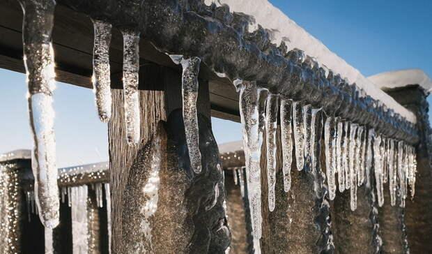 Гололедица из-за перепада температур наУрале сохранится доконца марта