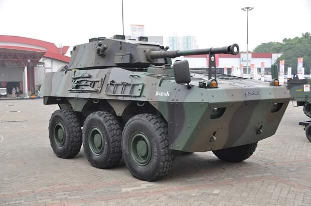 машины огневой поддержки badak, бронетранспортер, indo defense 2018, бронетехника индонезии