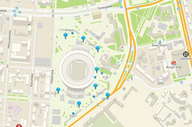 Ограждения вокруг Центрального стадиона. Екатеринбург