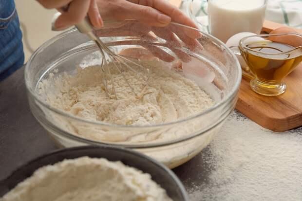 манный пирог как сделать