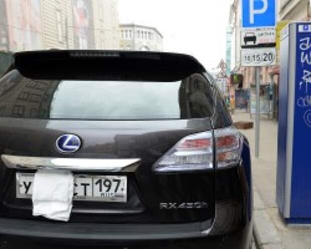 Мосгордума попросит Госдуму побороться с сокрытием автомобильных номеров