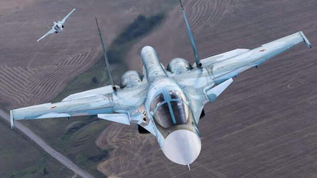 Истребитель Су-34 показал высокие результаты в арктических условиях
