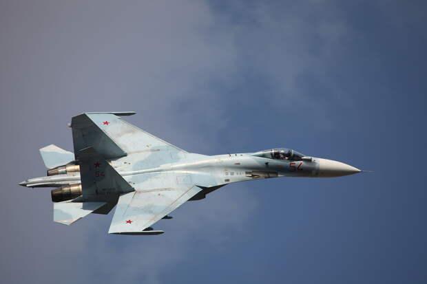 Российские истребители перехватили три бомбардировщика США над Чёрным морем