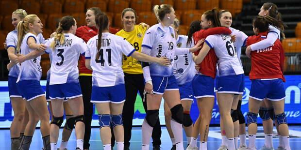 Россиянки разгромили турчанок и завоевали путевку на чемпионат мира по гандболу