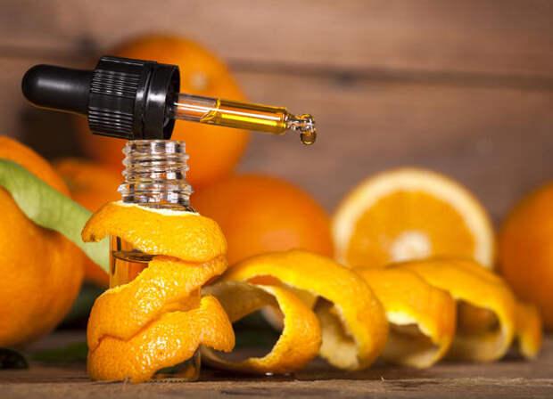Эфирное масло апельсина улучшает настроение и помогает расслабиться