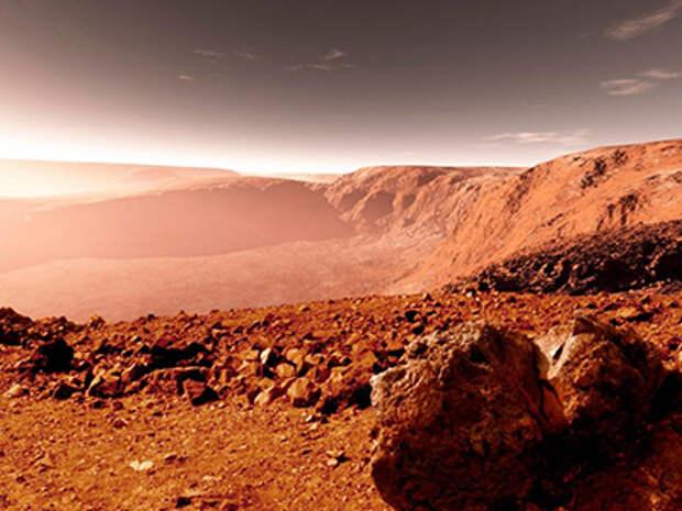 Весь мир шокирован: найдено место крушение НЛО на Марсе