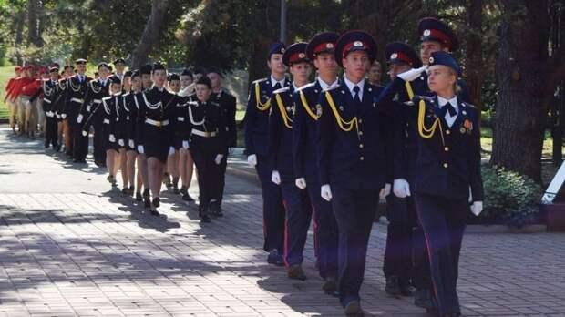 Уроки патриотического воспитания в Симферопольских школах
