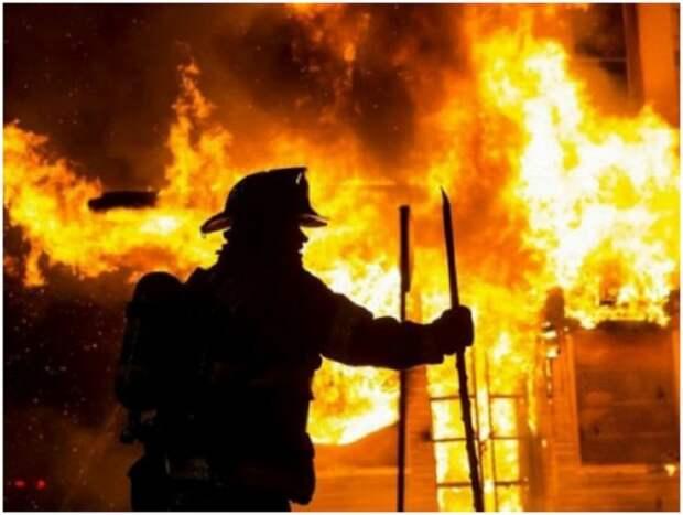 В Горловке в сгоревшем доме обнаружено тело мужчины
