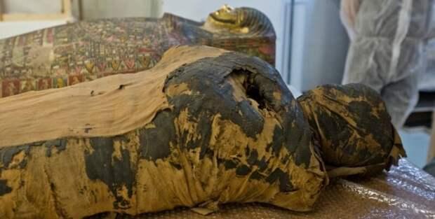 Уникальная находка: египетская мумия оказалась беременной