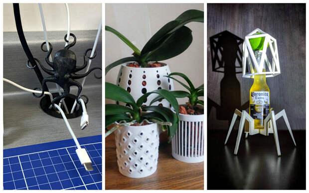 22 доказательства того, что 3D-принтер может реализовать любые фантазии
