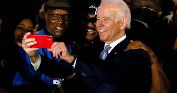 Темнокожие граждане Америки интересуется, что им причитается за Байдена