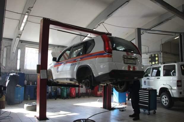 Производственно-технический центр пожарной и аварийно-спасательной техники отметил семилетие