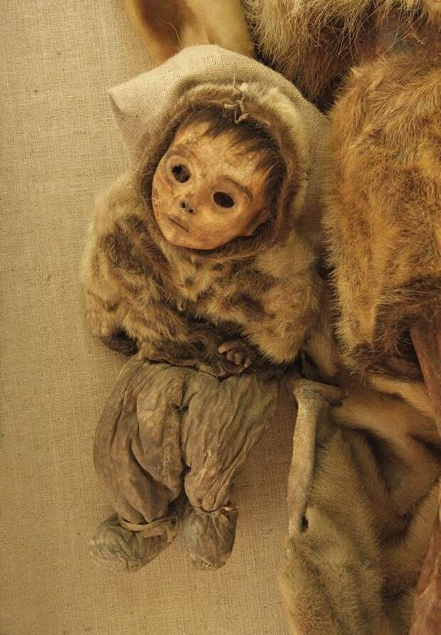 Мумия мальчика, Гренландия