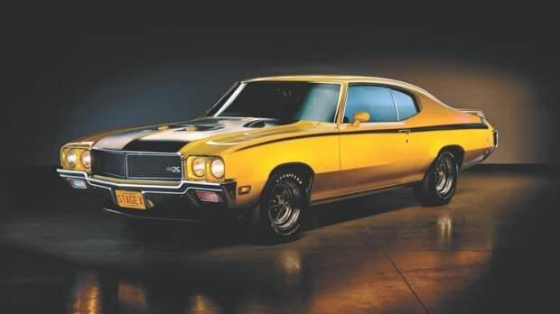 Buick GSX автомобили, маслкары, мощные авто