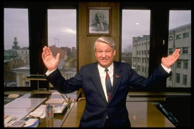 Легендарная история: как Ельцин упал с моста