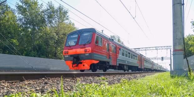 Расписание электричек от станций Ховрино и Грачёвская изменится в конце октября