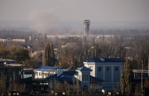 Донецк. Вид на аэропорт