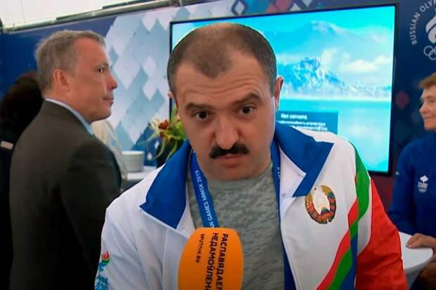 Виктор Лукашенко. Кадр youtube.com
