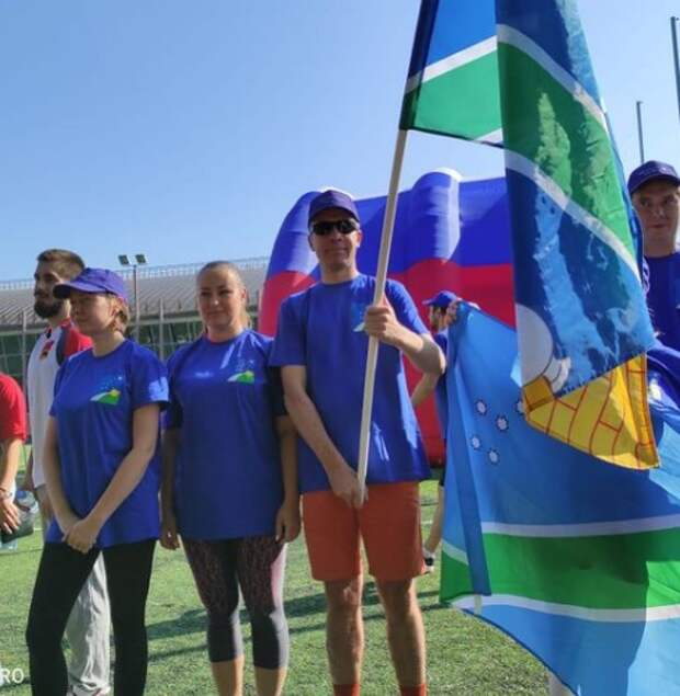 Команда района Северный приняла участие в соревнованиях ко Дню физкультурника
