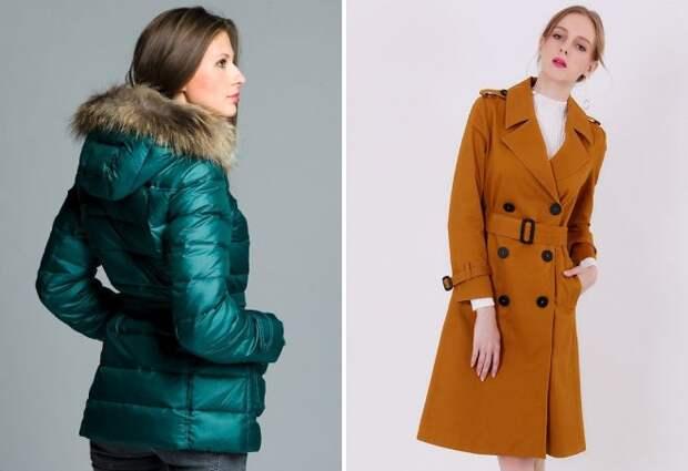 модная верхняя одежда зима 2017