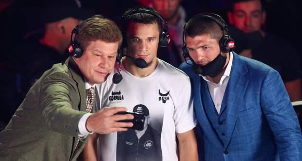 «Время покорять Америку». Хабиб сообщил, что Усман Нурмагомедов подписал контракт с Bellator