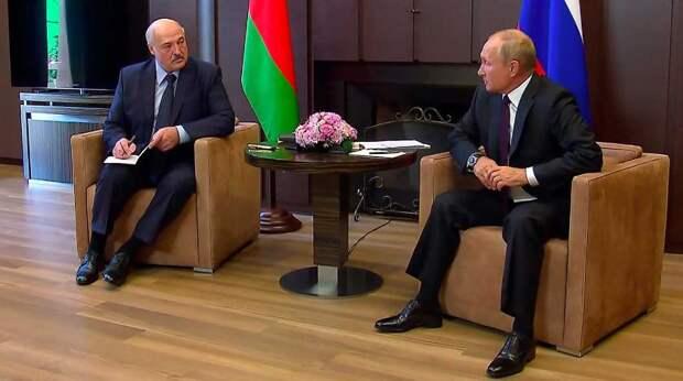 Лукашенко раскрыл детали разговора с Путиным