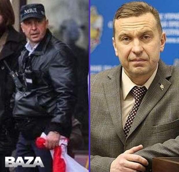 Белорусские активисты опознали человека, который руководил действиями «титушек» вчера в Минске.