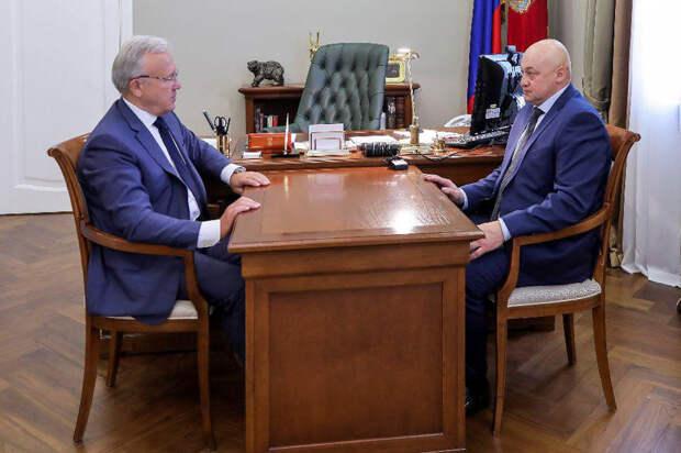 Сергей Батурин покинул должность полномочного представителя губернатора Красноярского края