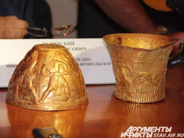 Ставропольские археологи нашли уникальное золото скифского царя