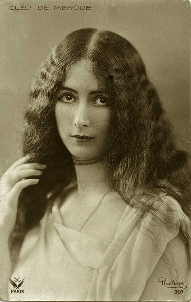 """""""Прекрасная Клео"""". Так выглядела самая красивая женщина XIX века"""