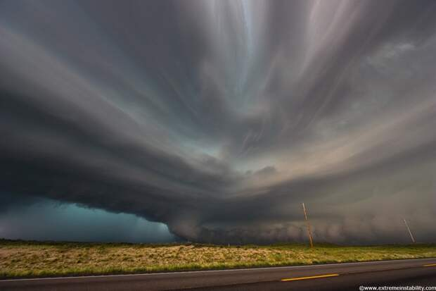 Впечатляющие фото бури и урагана… (22 фото)