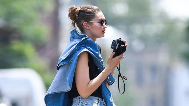 По ту сторону объектива: Джиджи Хадид пробует себя в качестве фотографа