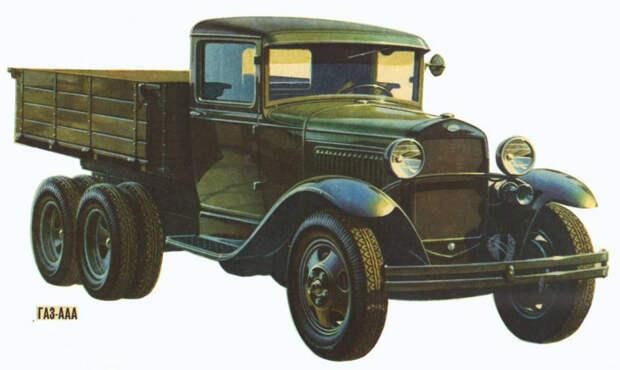 Советский бронеавтомобиль БА 6 — случайное появление