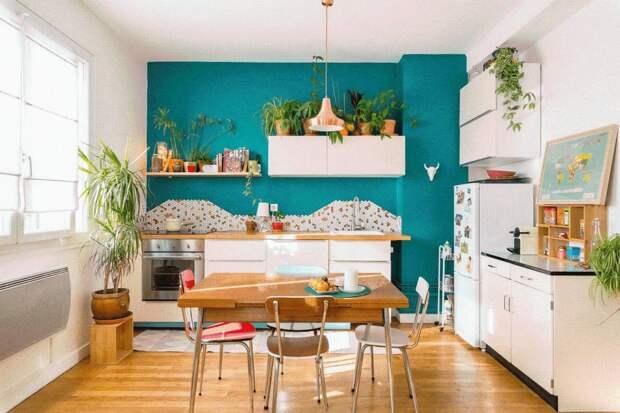 Как украсить кухню своими руками: цвет, элементы, роспись — 19 классных фотоидей декора