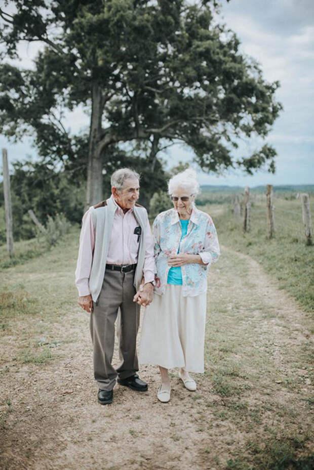 Дональд и Олли пожили вместе в браке 68 лет. Фото: Paige Franklin.