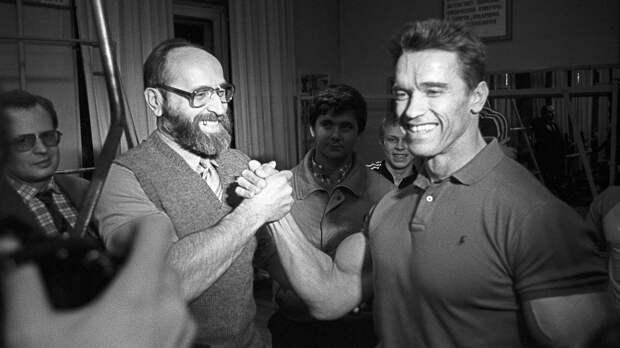 Шварценеггер почтил память олимпийского чемпиона Власова: «Он вдохновил меня, я буду очень по нему скучать»