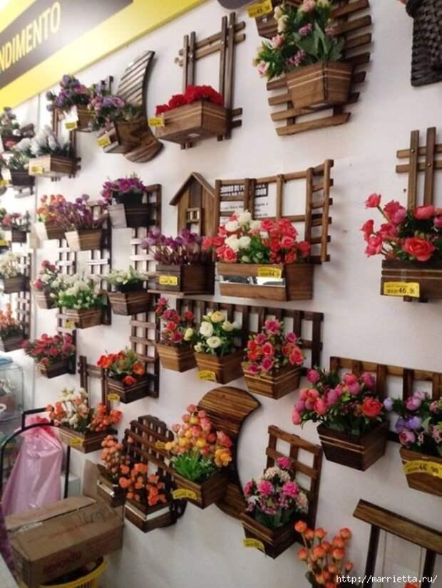 Подставки для комнатных цветов. Идеи (8) (525x700, 301Kb)