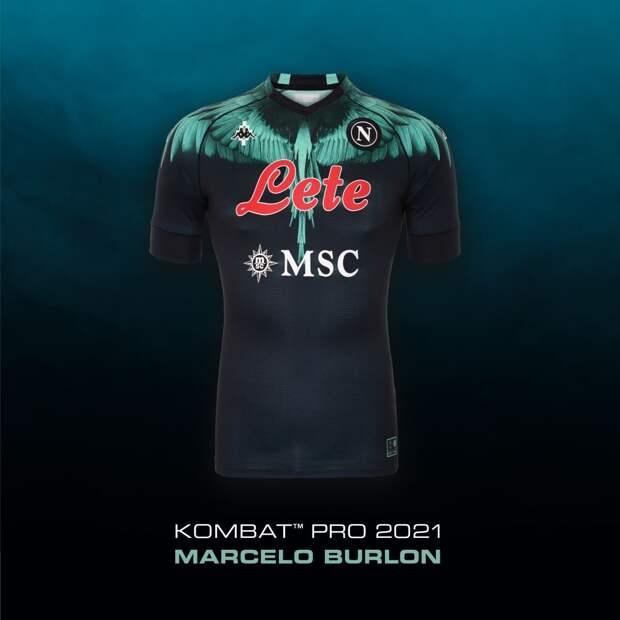 «Наполи» представил форму от дизайнера Марсело Бурлона. Клуб сыграет в ней с «Интером»