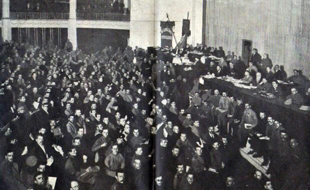 Губернские крестьянские съезды в 1917 году и земельный вопрос