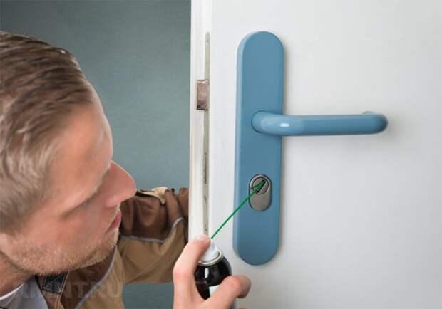 Правила эксплуатации и смазки дверных замков