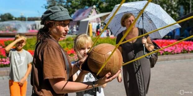 Собянин посетил площадку фестиваля «Времена и Эпохи» на Тверском бульваре. Фото: mos.ru
