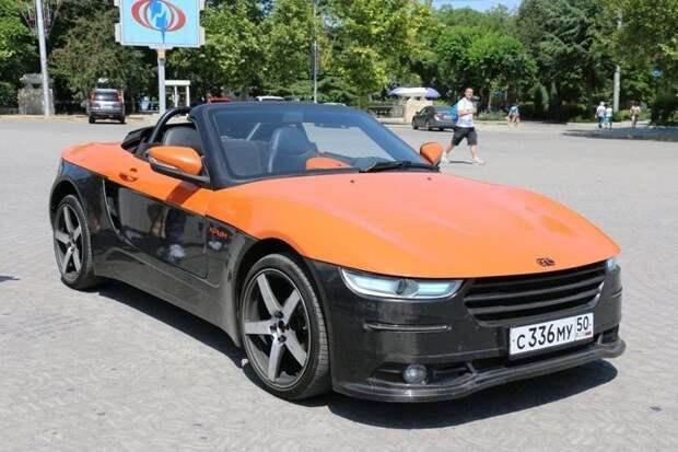 В научно-образовательным центре МГТУ им. Баумана создали спортивный кабриолет «Крым» авто, жить в россии, крым, наше авто