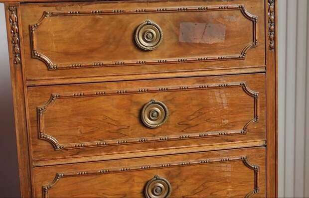 Простая реставрация старого комода: превратите ненужную вещь в шедевр