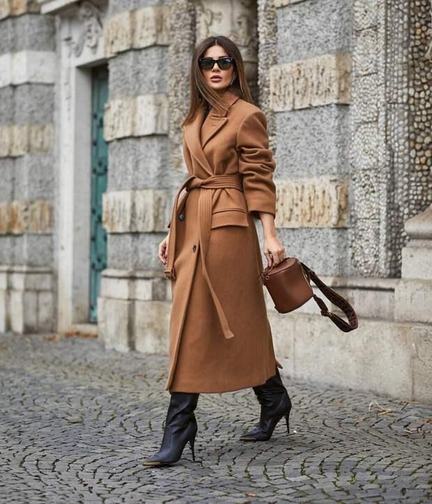Элегантное пальто всегда смотрится дорого. /Фото: ledixbeauty.ru