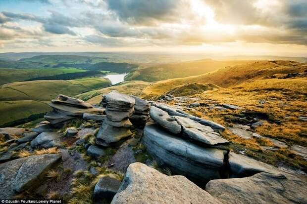 Пик Дистрикт, Англия европа, красоты, национальные парки, природа