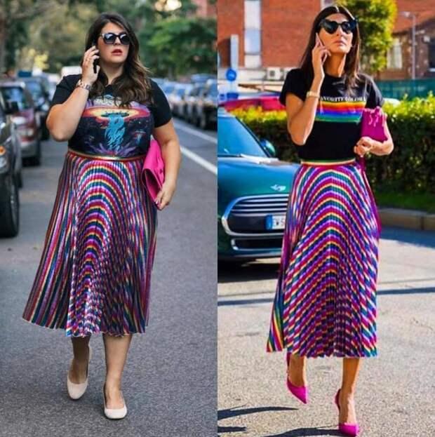 Блогерша-хулиганка на своем примере доказала, что быть худой уже не модно.